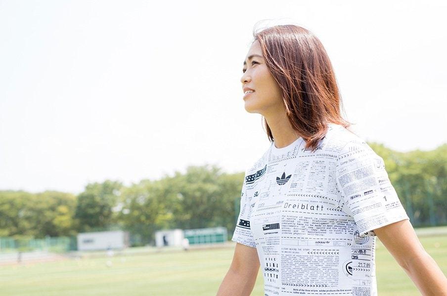 安藤梢、36歳の飽くなき挑戦「今もサッカーがうまくなりたい」<Number Web> photograph by Kiichi Matsumoto