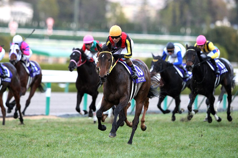ブエナビスタの娘が阪神JFに登場。祖母はエアグルーヴに勝ったあの馬!<Number Web> photograph by AFLO