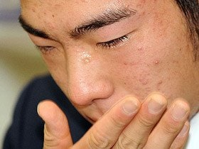 本当は皆メジャーに行きたい……。日本野球界は菊池の涙に猛省せよ!
