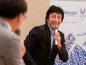 <みずほフィナンシャルグループ Jump to 2020>朝原宣治「個々の力とチームワークの集積」