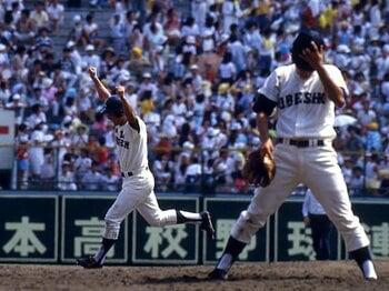 <対戦相手が語る桑田と清原> KK、戦慄の記憶。~'83高知商/'84享栄/'85宇部商~<Number Web> photograph by Toshihiro Kitagawa