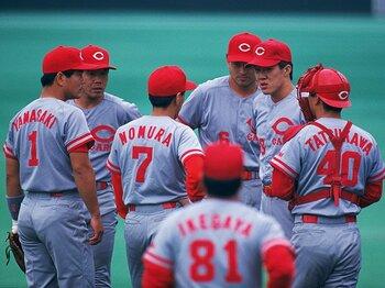 カープと日本シリーズ。~過去6回出場し、5回が7戦にもつれこむ大激戦~<Number Web> photograph by Koji Asakura