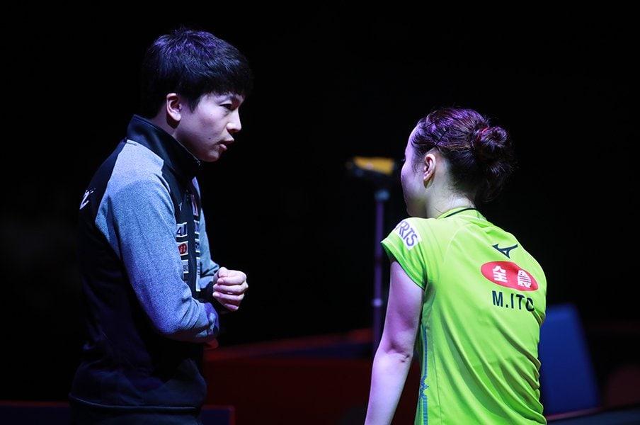 伊藤美誠と中国選手の本当の距離は?松崎コーチが語る転機と金メダル。<Number Web> photograph by ITTF