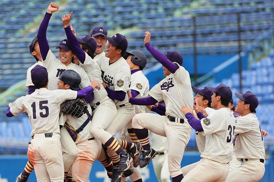 一塁到達タイム、球速、勝利数……。大学野球終盤戦を数字で大分析。<Number Web> photograph by NIKKAN SPORTS
