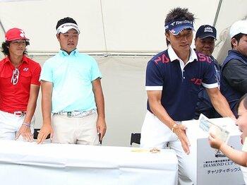 7年ぶりに東北で男子ツアーが開催。復興へ、ゴルフが福島の先駆けに。<Number Web> photograph by YUTAKA/AFLO SPORTS
