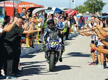 今季初勝利で証明した最速ロッシの底力。~地元サンマリノを沸かせた技術~<Number Web> photograph by Satoshi Endo