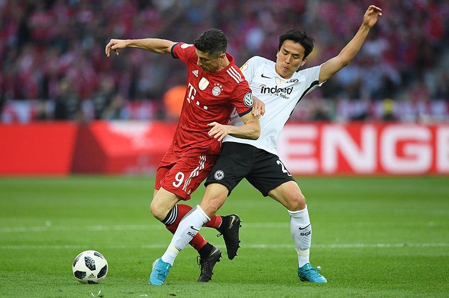 ドイツは今季もバイエルン無双?まず長谷部フランクフルトが挑む。<Number Web> photograph by Getty Images