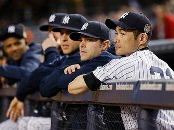 大物外野手2人を獲得のヤンキース。トレード濃厚のイチローの来季を占う。 <Number Web> photograph by REUTERS/AFLO