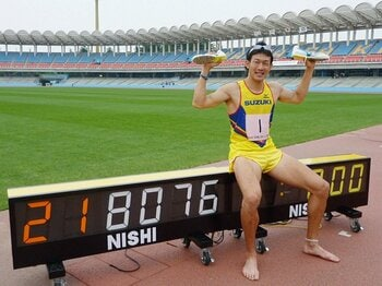 10種競技の快記録。~日本人の壁を破った右代啓祐~<Number Web> photograph by KYODO