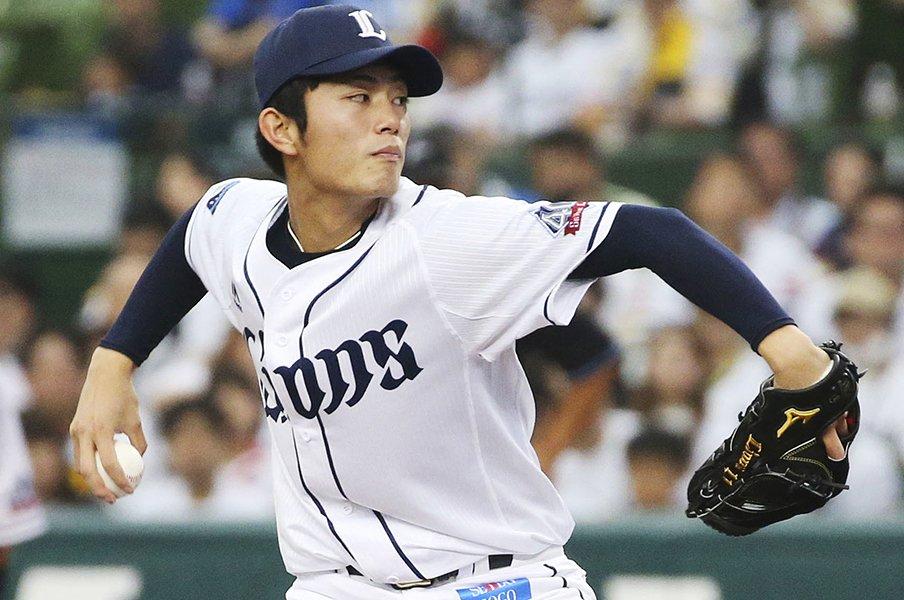 西武・今井達也はエースになる。辻監督は「まだ20歳。よく投げた」。<Number Web> photograph by Kyodo News