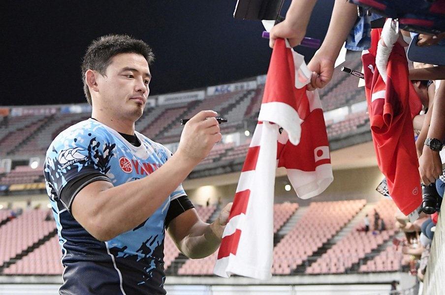 ラグビーW杯まで2年、観客動員は?五郎丸効果に加えて本気度上昇中。<Number Web> photograph by Kyodo News