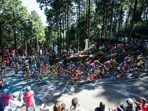 8万人が宇都宮郊外の山中に集結!自転車ロードレースの国内最高峰。
