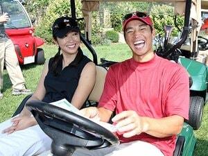 ゴルフの広告になぜプロ野球選手!?憧れと共感を両立した人選の理由。