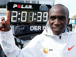 2時間1分台の世界新より恐るべき、キプチョゲの「ラスト2.195km」。