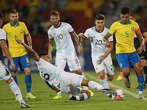 メッシ&ネイマール出場せずとも、南米2強の東京五輪世代は超強烈。