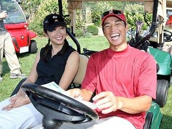 ゴルフの広告になぜプロ野球選手!?憧れと共感を両立した人選の理由。<Number Web> photograph by AFLO