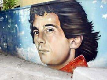 ブラジルの地で、セナを思う。<Number Web> photograph by AFLO
