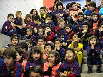 <検証紀行・理想郷へ> FCバルセロナ 「メッシを授かったカタルーニャの至福」<Number Web> photograph by Takuya Sugiyama