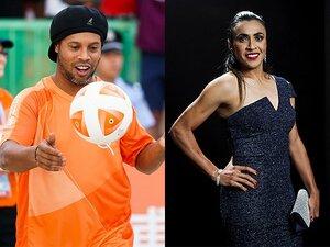 ロナウジーニョは裕福、マルタは?ブラジル2大名手の少年少女時代。