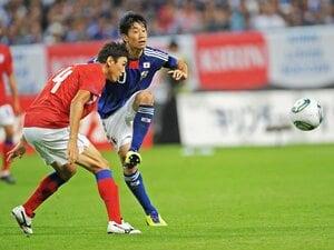 「3-4-3」システムの思わぬ効用。ザックジャパン、韓国に歴史的大勝。