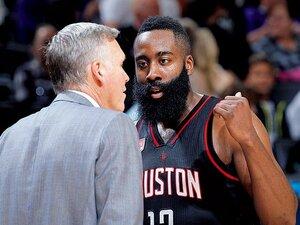 """""""名スコアラー""""ハーデンを司令塔に変えたHCの妙案。~PGへのコンバートで、一躍NBA屈指のスターに~"""