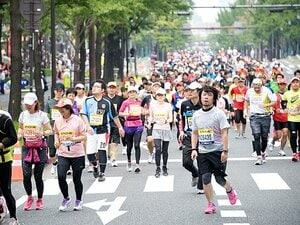 """<マラソン> 10.30""""大阪マラソン""""をランニング初心者が走ってみた。(後編)"""