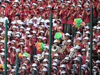 野球の強豪は、吹奏楽の名門も多い!?完全ブラバン目線で見る選抜甲子園。<Number Web> photograph by Hideki Sugiyama