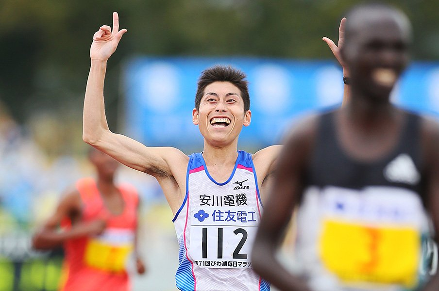 日本新を出さないと五輪に行けず!?代表選考が暗過ぎる男子マラソン。<Number Web> photograph by Yohei Osada/AFLO SPORT