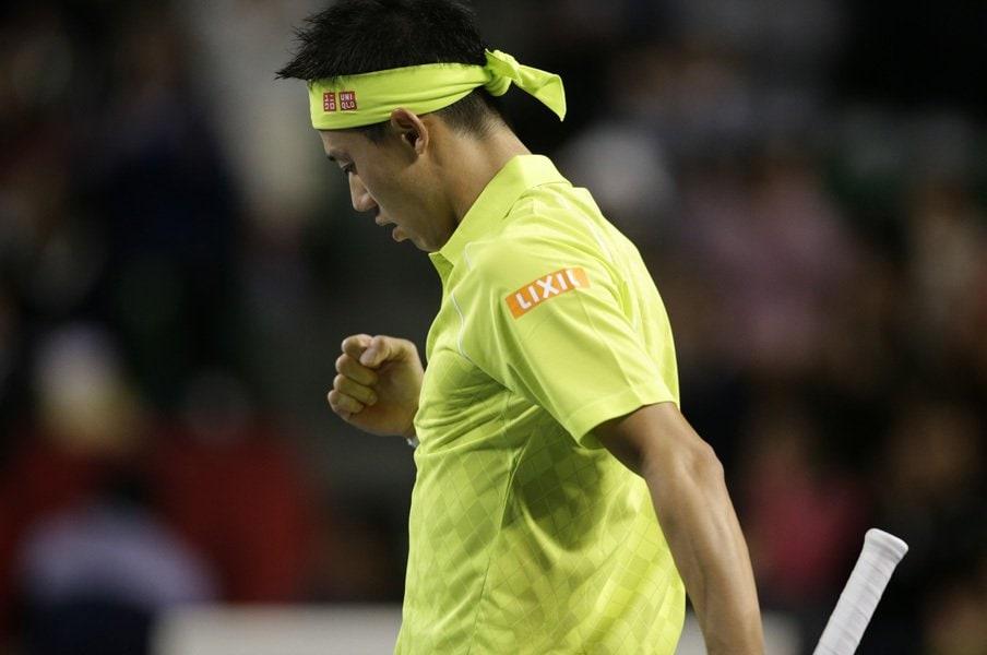 シーズンを通して戦い続ける難しさ。錦織圭、ファイナル2年連続出場への道。<Number Web> photograph by Hiromasa Mano