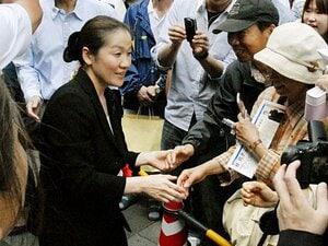 """谷亮子の参院選出馬で、""""決断""""を迫られる全柔連。~「当選しても現役続行」の波紋~"""