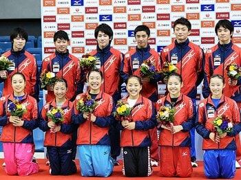 新布陣で臨む世界選手権。体操男子、打倒中国なるか。~白井らスペシャリストの試金石~<Number Web> photograph by Getty Images