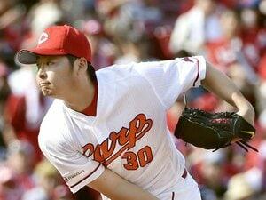専門学校卒の星・一岡竜司。広島で輝く、庶民派のド根性右腕。