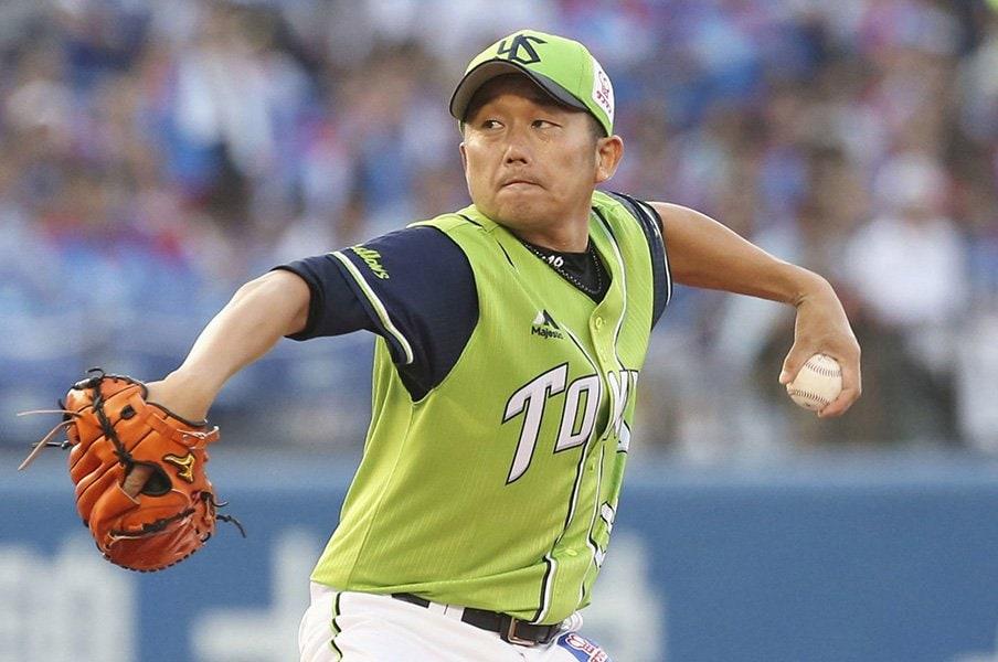 38歳で奮闘するヤクルト石川雅規。今なお先発を任せられる理由とは。<Number Web> photograph by Kyodo News