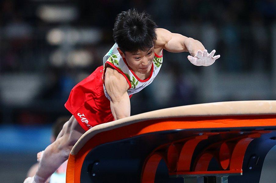 内村航平が「できすぎ」と熱弁する、体操・北園丈琉の潜在能力とは。<Number Web> photograph by AFLO