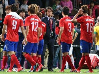 """サッカー銅メダルを巡り日韓対決へ。""""絶対に負けられない""""韓国側の事情。<Number Web> photograph by Yonhap/AFLO"""