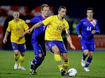 【ユーロ2012 グループD展望】イブラ擁するスウェーデンを侮るな!本命の仏英を破り、目指すは「4強」。<Number Web> photograph by Getty Images