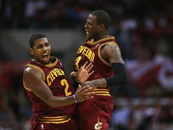大胆不敵な新人王が率いる、若きキャブスの躍進なるか。~NBA期待の新星、アービング~<Number Web> photograph by Getty Images