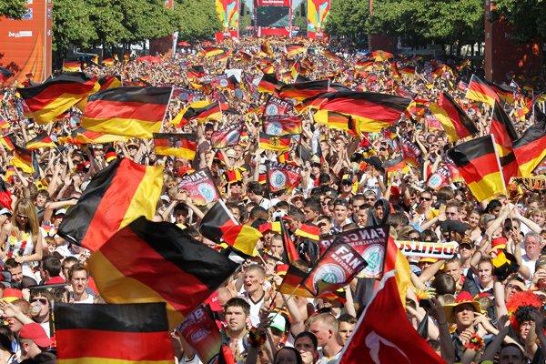 ベルリンの大群衆