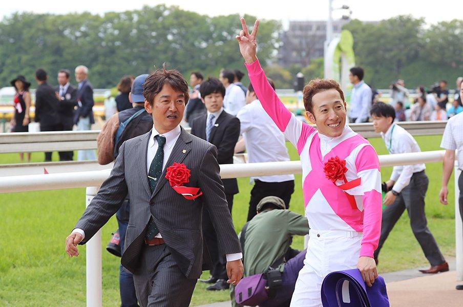 今年すでに重賞4勝、GIは初勝利。NHKマイル制覇は藤岡佑介の転機だ。<Number Web> photograph by Yuji Takahashi
