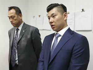 プロ野球選手会長・炭谷銀仁朗。「正解は分からないが、戦っていく」