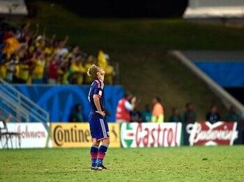 """これは「方向性なき敗戦」ではない。GL敗退の日本、選手が信じた""""道""""。<Number Web> photograph by Takuya Sugiyama"""