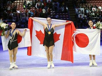 女子フィギュアと身長。~高度なジャンプのためには高身長は障害になるが……~<Number Web> photograph by AFLO