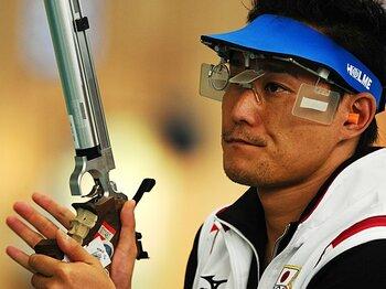 ロンドン五輪日本代表内定第1号、射撃の松田知幸(神奈川県警)は金に近い選手の一人