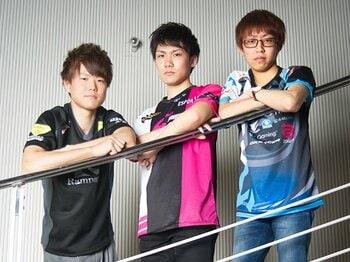 """プロゲーマーが日の丸を背負う時代。LoLトップ選手と""""ゲームの代表戦""""。<Number Web> photograph by Yuki Suenaga"""