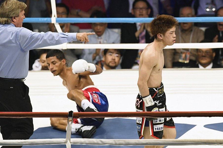 「会長、次、統一戦にして下さい!」拳闘界、異端の世界王者・田中恒成。<Number Web> photograph by Kyodo News