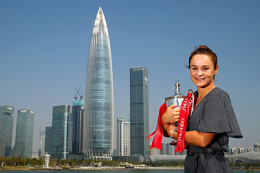 バーティに優勝賞金4億8000万円!WTAファイナルズの陰に中国マネー。<Number Web> photograph by Getty Images