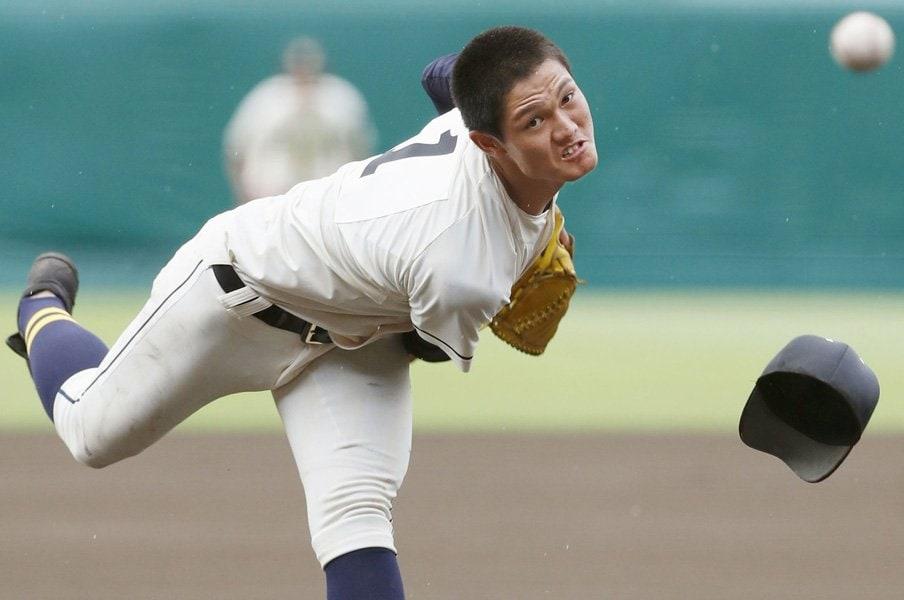 創志学園・西純矢の雄叫びと本性。審判と戦い、知った甲子園の怖さ。<Number Web> photograph by Kyodo News