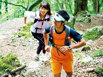 <Qちゃん、トレイルランに挑戦> 高橋尚子×山本健一 「山で走ることは、山で遊ぶこと」<Number Web> photograph by Sho Fujimaki
