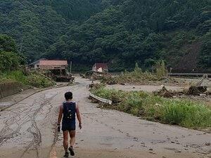 「道路がダメなら、山から行くぞ!」熊本豪雨で際立ったトレランの知恵。