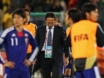 """南アに置き忘れた「ガラスの靴」。""""シンデレラ""""日本代表に3つの課題。<Number Web> photograph by FIFA via Getty Images"""